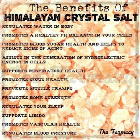 benefits of himalayan salt l the 13 amazing health benefits of himalayan salt