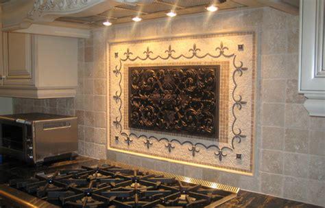 kitchen mural backsplash handcrafted mosaic mural for kitchen backsplash