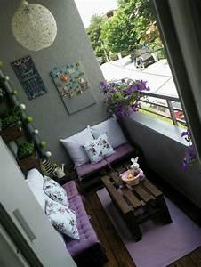 Balkongestaltung Kleiner Balkon : balkongestaltung ein kleiner ort voller entspannung und ~ Michelbontemps.com Haus und Dekorationen