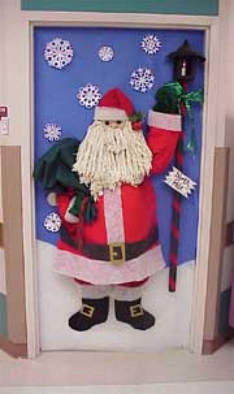 Office Door Christmas Decorating Contest by 16 Awesome Photos Santa Door Decorating Ideas Office