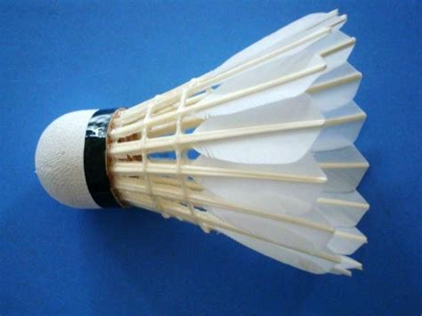 diy cork badminton equipment goose feather shuttlecock dp 204