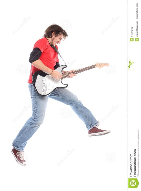 Playing Electric Guitar Royalty Free Stock Photo  Image 14574245