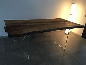 Tisch acryl heimatholz for Acryl tisch