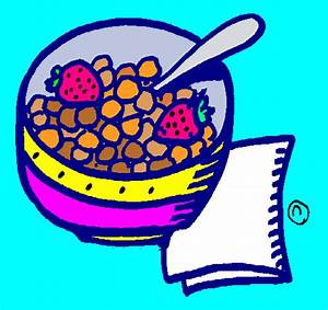 Colorful Cereal Bowl Clipart | ClipArtHut - Free Clipart