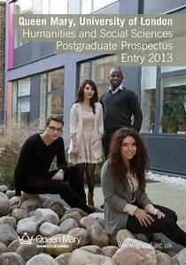 HSS Postgraduate Prospectus 2013 by Queen Mary University ...