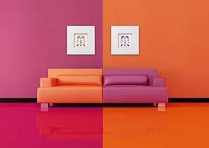 awesome chambre orange et rose pictures lalawgroupus With awesome quelle couleur pour le salon 5 le positionnement des couleurs
