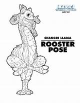 Ice Age Collision Course Coloring Llama Shangri Yoga Sheets Printables Trailer Pages July Printable Kleurplaten Character Rooster Collisioncourse Iceage International sketch template