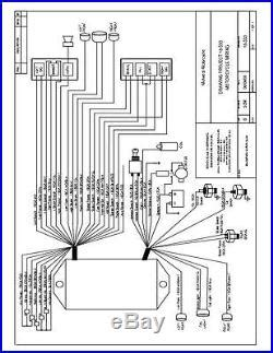 Ultima Ignition Wiring Diagram by Ultima Wiring Harness For Harley Wiring Diagram
