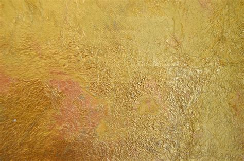 Gold Wandfarbe by How To Gild Canvas
