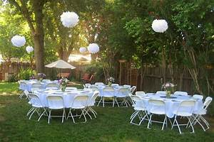 backyard wedding small yard 2017 2018 best cars reviews With small wedding shower ideas