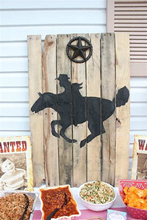 Cowboy Birthday Party Ideas {parker Turns 7}  Love Of