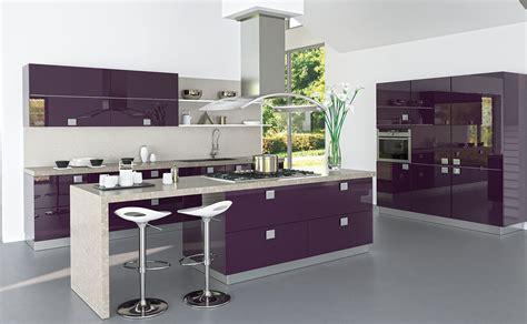 cuisines teisseire cuisine estoril aubergine atypique et équipée par