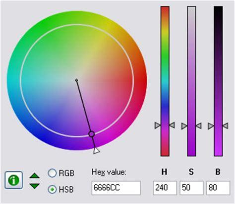 mode color color picker