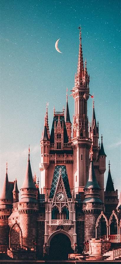 Castle Disneyland Iphone Beige Wallpapers