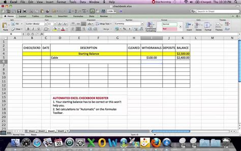 printable bank reconciliation worksheet excel bank account
