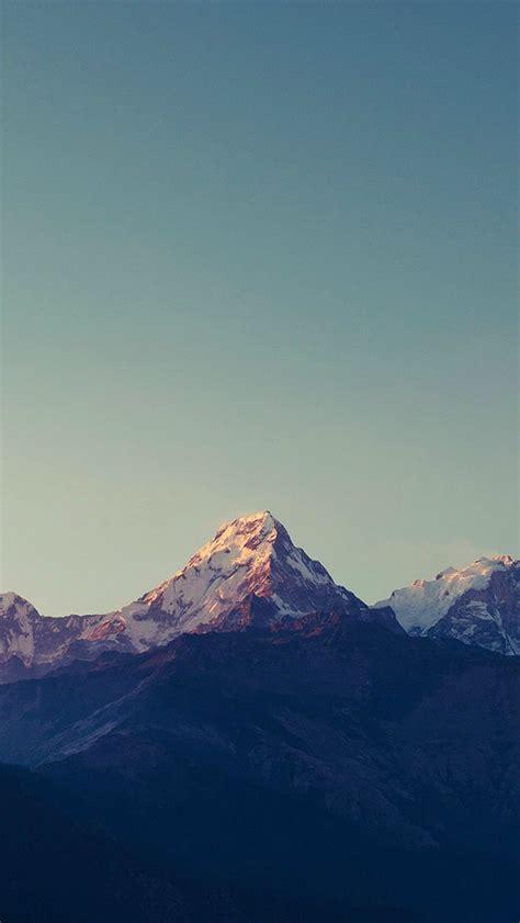 mountain blue high sky nature rocky iphone  wallpaper