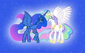 My Little Pony Wallpaper Luna And Celestia