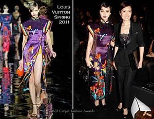 Fan Bing Bing And Gong Li Front Row Louis Vuitton Fall