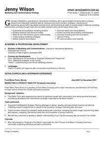 resume for marketing major marketing and communications resume new grad entry level
