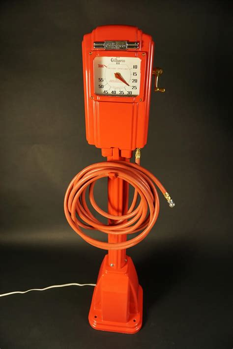 stunning  restored gilbarco filling station air meter wi