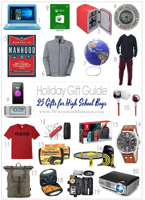 christmas gifts for high school boys gift guide gift ideas for