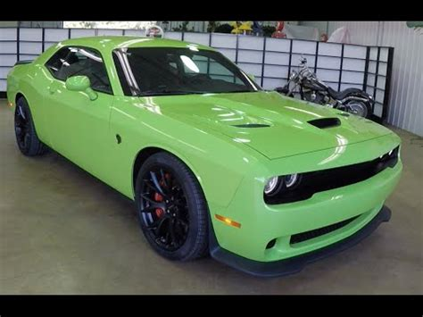 2015 Dodge Challenger SRT Hellcat Sublime Green   Indiana