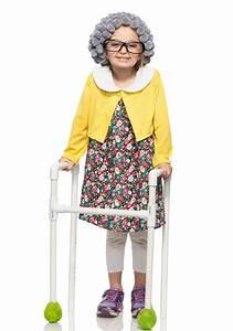 Grandma Costume for Kids