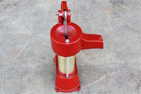 heller aller brass cylinder pitcher cistern  water pump