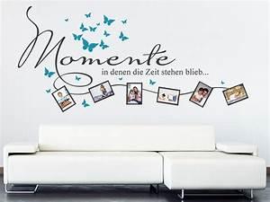 Wandtattoo Mit Bilderrahmen : wandtattoo momente bilderahmen von ~ Whattoseeinmadrid.com Haus und Dekorationen