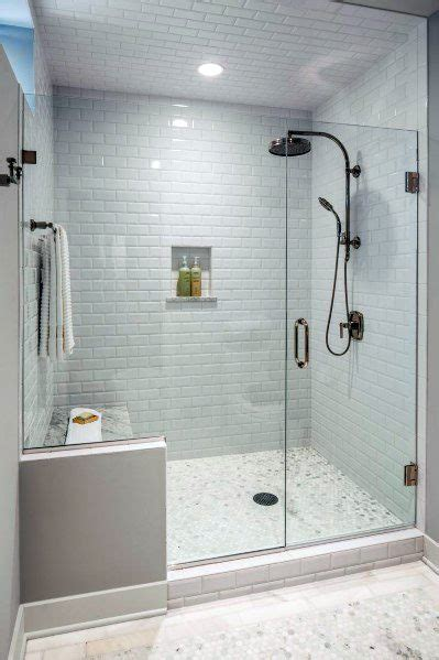 Glass Subway Tile Bathroom Ideas by Top 50 Best Subway Tile Shower Ideas Bathroom Designs