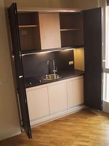 Küchen Für Kleine Räume : kochnische f r kleine r ume funktional kunden idfdesign ~ Sanjose-hotels-ca.com Haus und Dekorationen