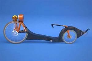 Futuristic Steampunk Cycles   Electric Recumbent Bike