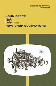 John Deere Rg Series Row-crop Cultivators