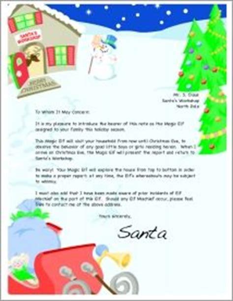 introduction letter elves  letters  pinterest
