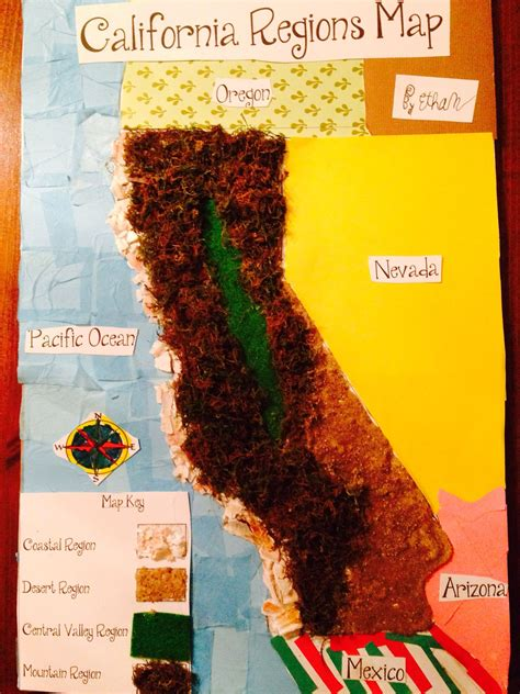 california regions map by ethan kid stuff