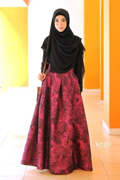 fashionable  hijab fashion outfit