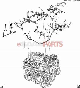 25928884  Saab Harness  Engine Wrg