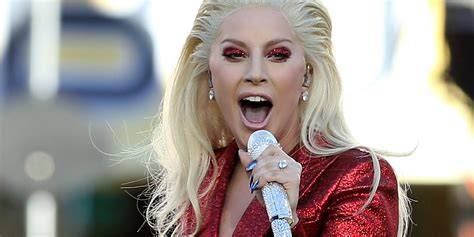 Lady Gagas Super Bowl 50 National Anthem Outfit Makes