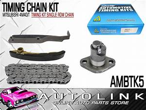 Timing Chain Kit To Suit Mitsubishi Canter Fb511 4m40 Engine  Single Row Chain