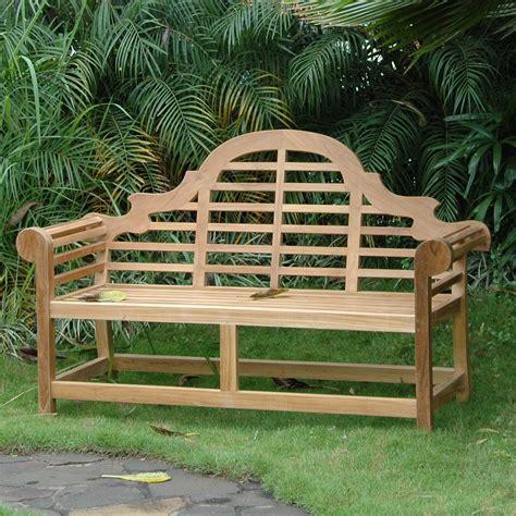anderson teak marlborough teak garden bench wayfair