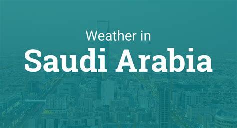weather saudi arabia