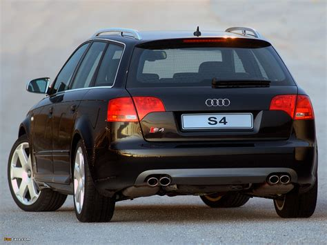 2005 Audi S4 Avant 8e Pictures Information And Specs