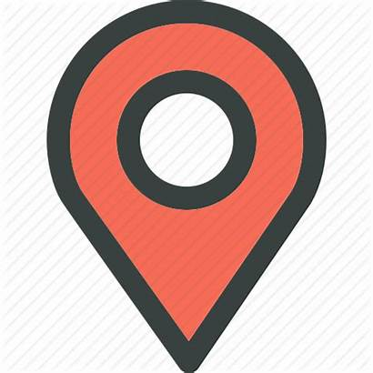 Location Points Icons Flat Sell Miles Data