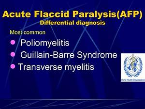 Acute Flaccid Paralysis Lecture Mbbs