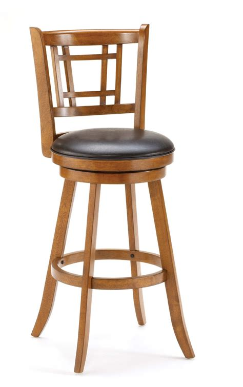 oak bar chairs hillsdale fairfox swivel bar stool oak 4650 830 1125