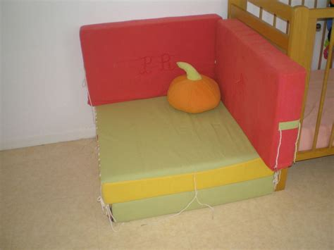 canapé lit d appoint canapé lit d 39 appoint citrouille photo de couture mamifée