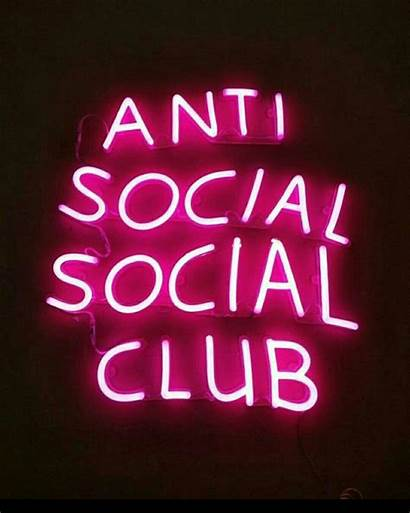 Neon Antisocial Aesthetic Quotes Wallpapers Dope Inspo