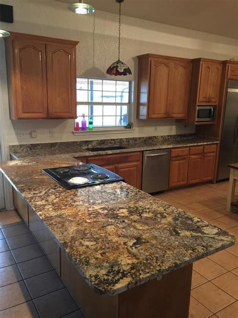 yucatan granite custom kitchen countertops undermount