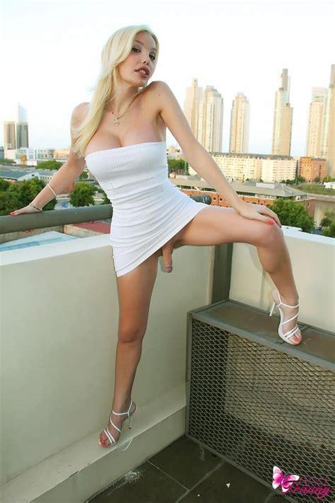 Sexy Shemale Ana Mancini In Stunning Tight Dress Pichunter