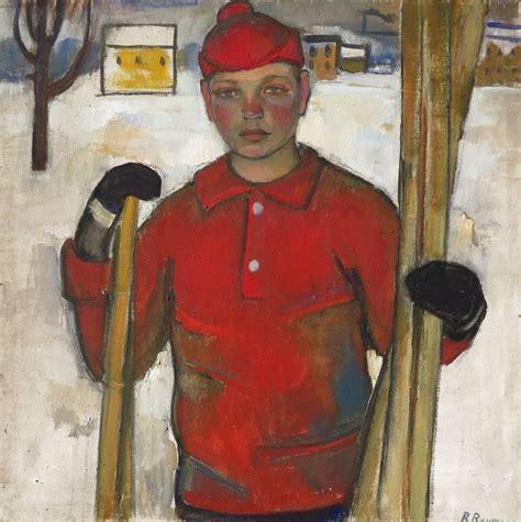Biruta Baumane (Latvia, 1922) Slēpotājs 196.gads ...